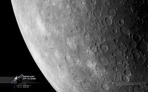 De planeet Mercurius