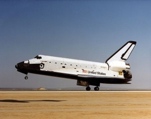 De space shuttle Challenger
